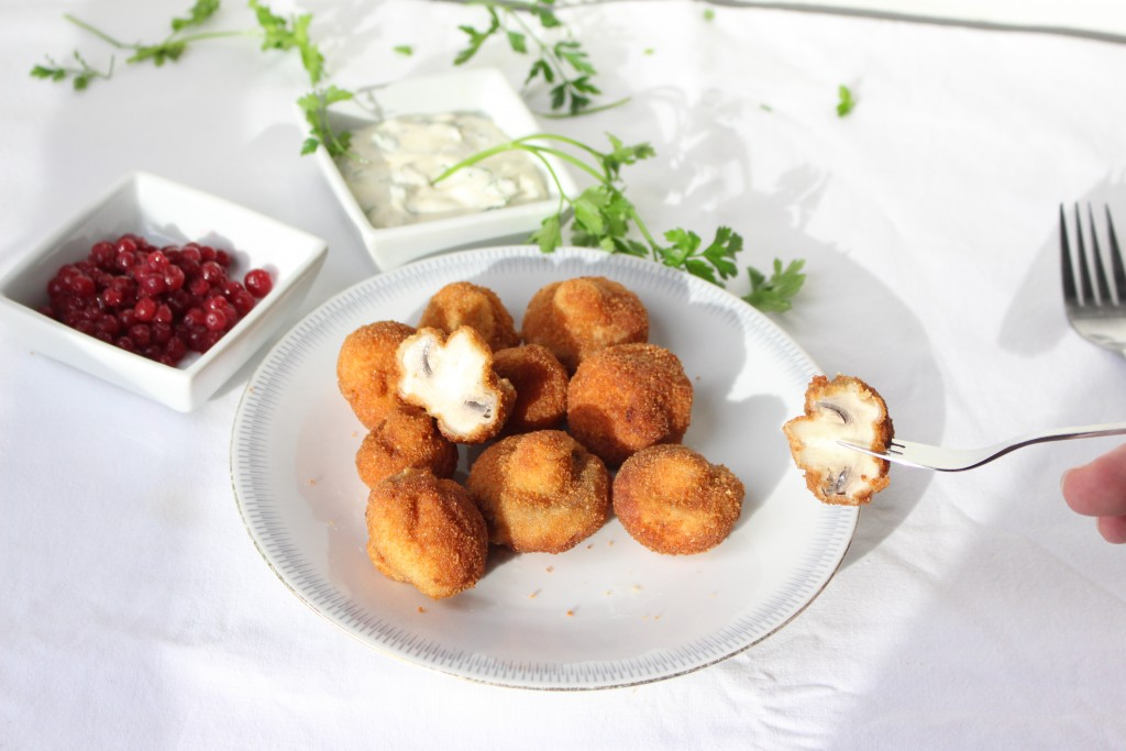 Breaded Mushrooms (gebackene Champignons)
