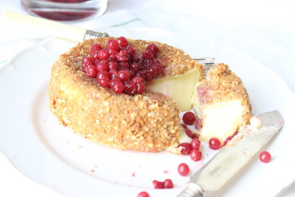 breaded Camembert (panierte Camembert)