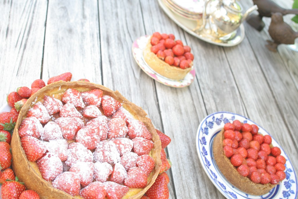 Strawberry Cheesecake (ErdbeerKäsekuchen)